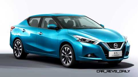 2015 Nissan Lannia Revealed in Shanghai With Funky Rump 11 copy
