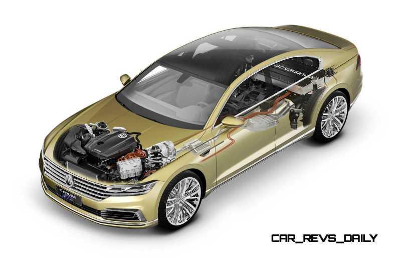 2015 Volkswagen C Concept GTE 1