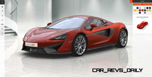2016 McLaren 570S Coupe Configurator COLORS 7