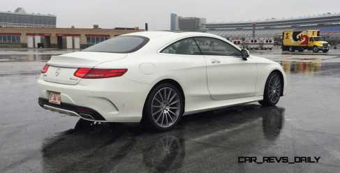 First Drive Review - 2015 Mercedes-Benz S550 Coupe 12