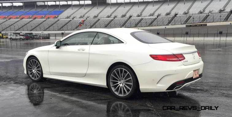 First Drive Review - 2015 Mercedes-Benz S550 Coupe 22