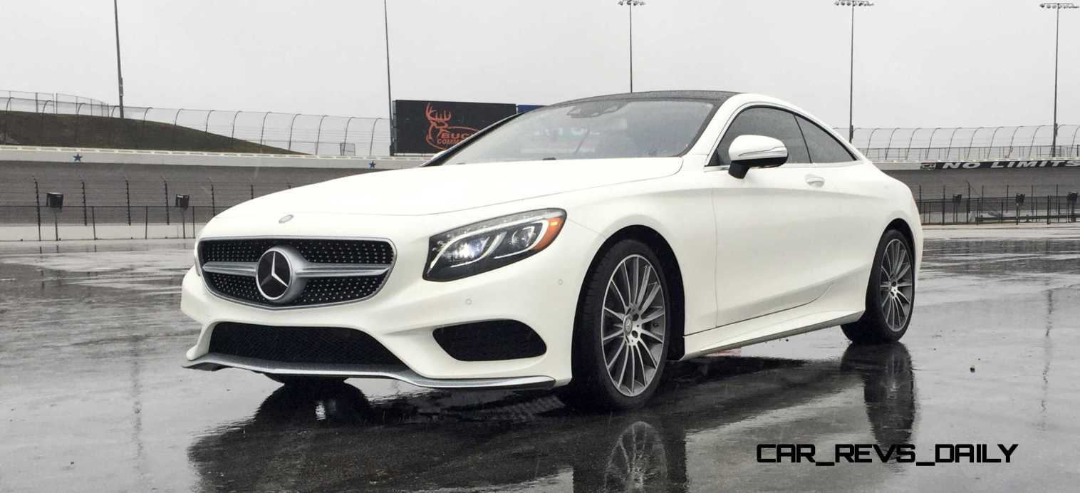 First Drive Review - 2015 Mercedes-Benz S550 Coupe 35