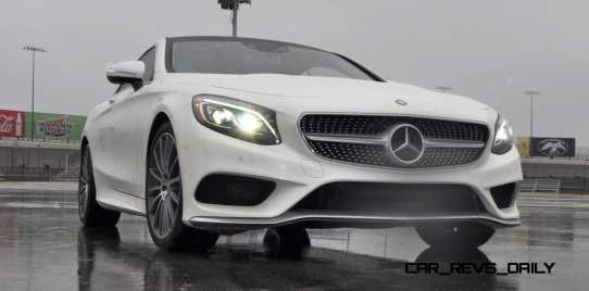 First Drive Review - 2015 Mercedes-Benz S550 Coupe 74