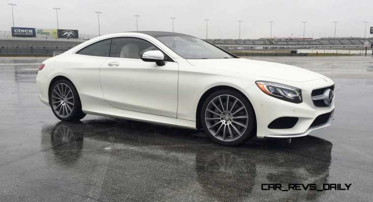 First Drive Review - 2015 Mercedes-Benz S550 Coupe 8
