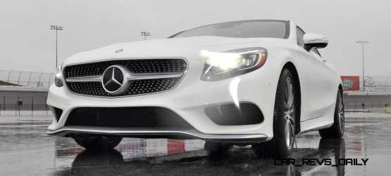 First Drive Review - 2015 Mercedes-Benz S550 Coupe 83