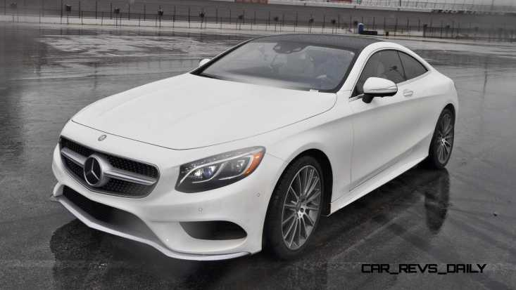 First Drive Review - 2015 Mercedes-Benz S550 Coupe 87