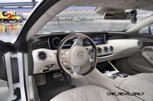 First Drive Review - 2015 Mercedes-Benz S550 Coupe 93