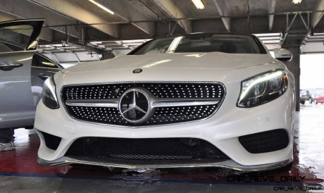 First Drive Review - 2015 Mercedes-Benz S550 Coupe 99
