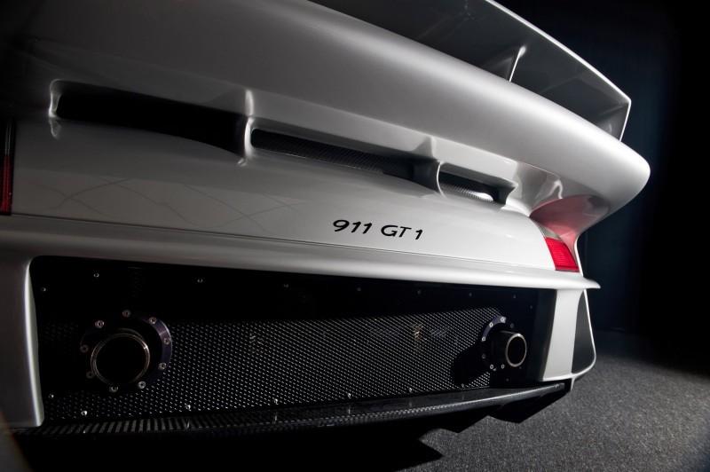 LeMans Homologation Specials - 1998 Porsche 911 GT1 Evo Strassenversion 16