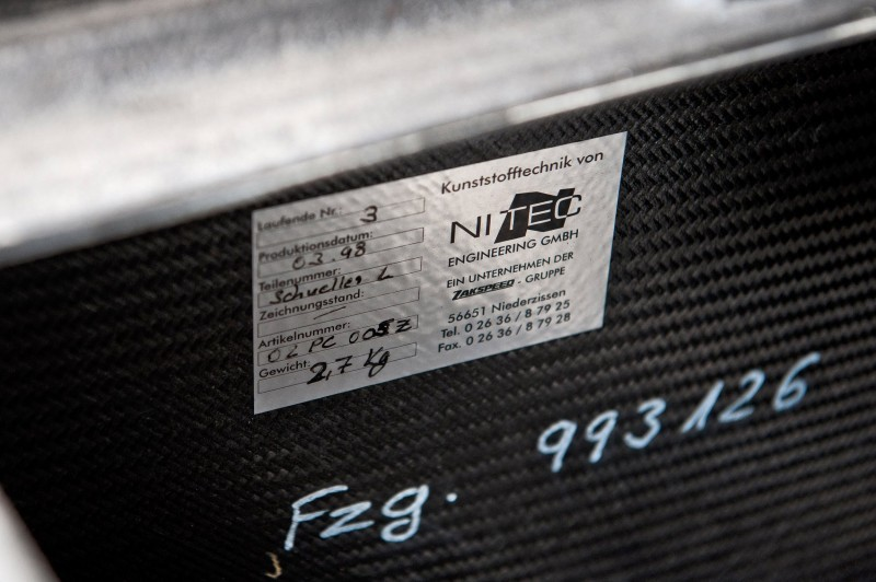 LeMans Homologation Specials - 1998 Porsche 911 GT1 Evo Strassenversion 19