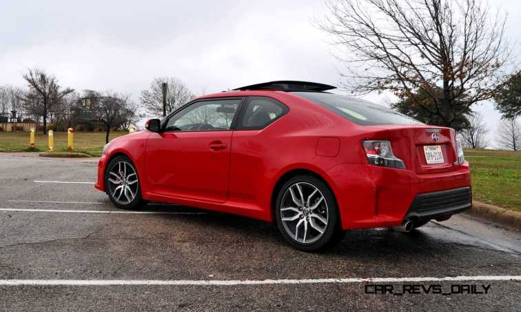Road Test Review - 2015 Scion tC 6-Speed With TRD Performance Parts 84