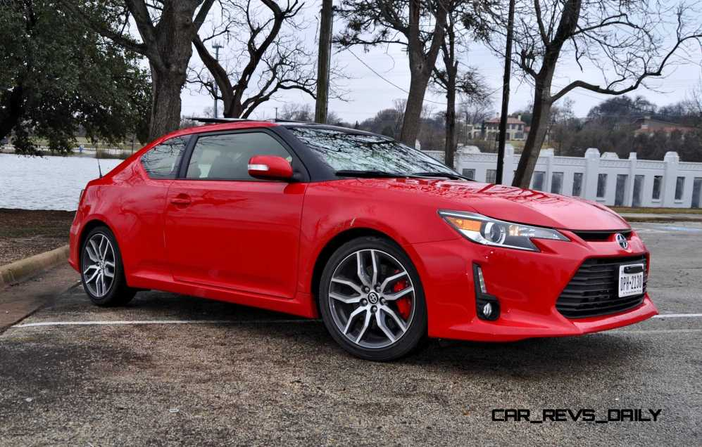 Road Test Review - 2015 Scion tC 6-Speed With TRD Performance Parts 94