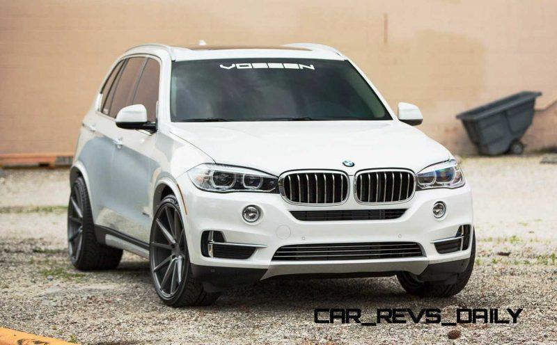 VOSSEN VFS1 Wheels on 2015 BMW X5 sDrive35i M Sport 21