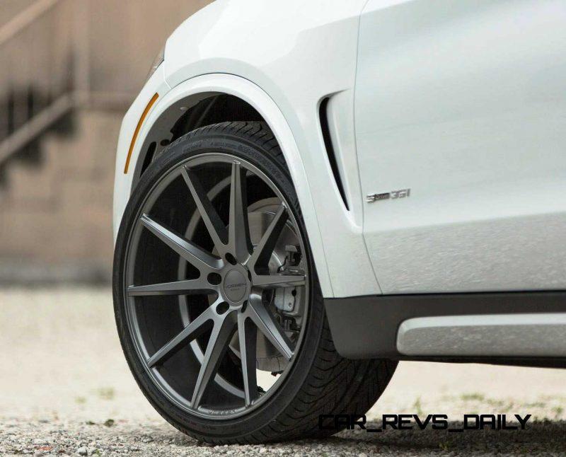 VOSSEN VFS1 Wheels on 2015 BMW X5 sDrive35i M Sport 22