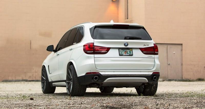 VOSSEN VFS1 Wheels on 2015 BMW X5 sDrive35i M Sport 3
