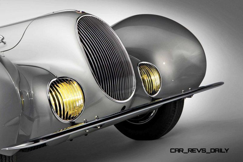 1938 Talbot-Lago T150-C SuperSport Teardrop Coupe 21