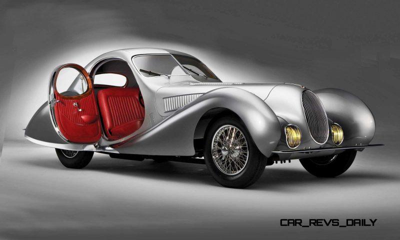 1938 Talbot-Lago T150-C SuperSport Teardrop Coupe 3