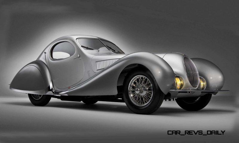 1938 Talbot-Lago T150-C SuperSport Teardrop Coupe 4