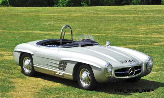 1957 Mercedes-Benz 300SLS Racing Speedster 16