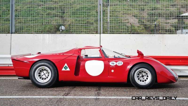 1968 Alfa Romeo T33-2 Daytona 6