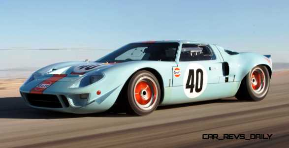 1968 Ford GT40 Gulf Mirage Lightweight LM Racecar 21