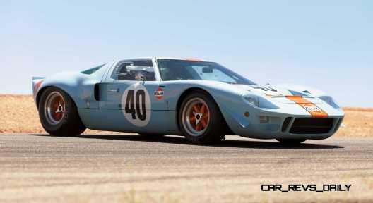 1968 Ford GT40 Gulf Mirage Lightweight LM Racecar 30