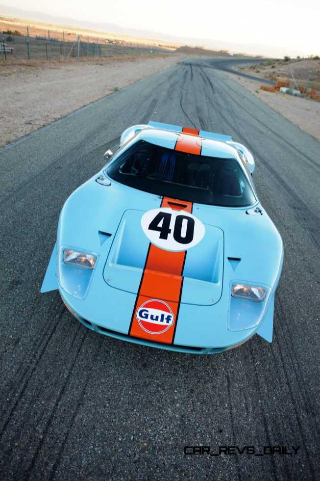 1968 Ford GT40 Gulf Mirage Lightweight LM Racecar 38
