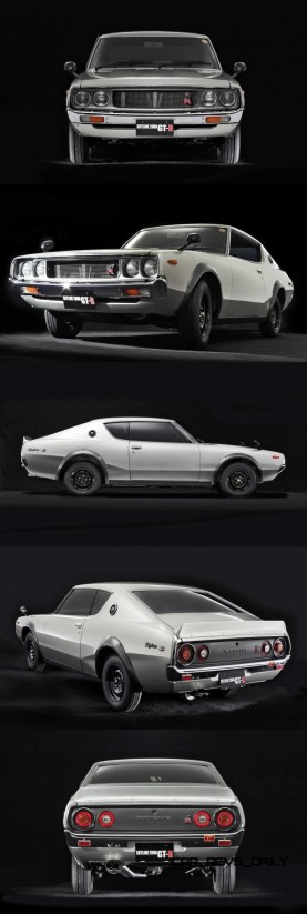 1973 Nissan Skyline 2000GT-R Kenmeri 6-vert