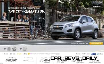 2015 Chevrolet Trax Colors and Wheels 2