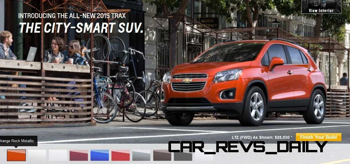 2015 Chevrolet Trax Colors and Wheels 4