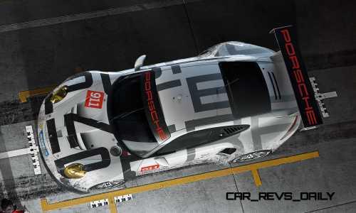 2015 Porsche 911 RSR 9