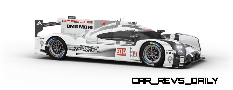 2015 Porsche 919 Hybrid 360-degree Turntable Images 19