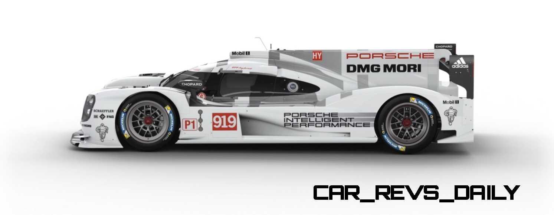 2015 Porsche 919 Hybrid 360-degree Turntable Images 49