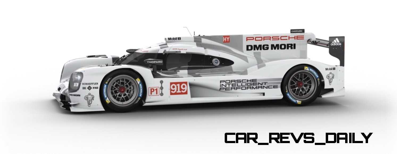 2015 Porsche 919 Hybrid 360-degree Turntable Images 51