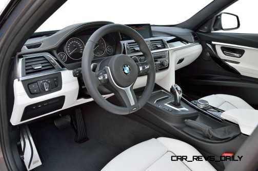 2016 BMW 3 Series Interiors 16