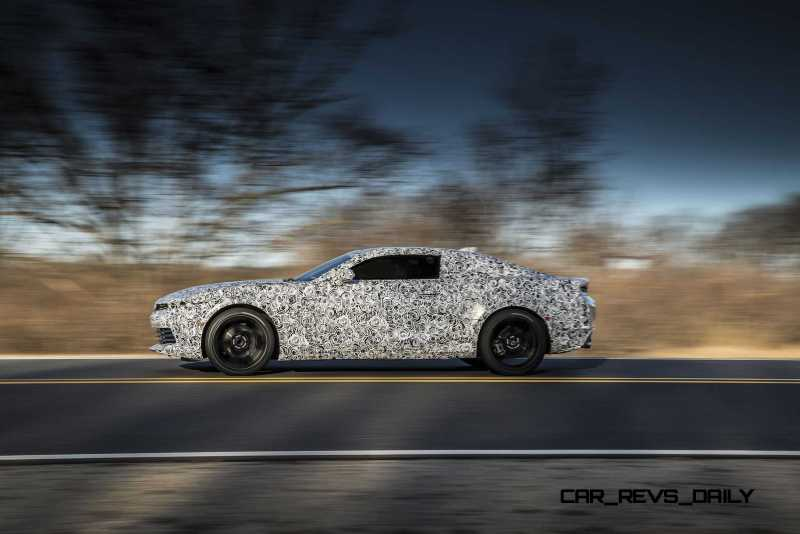 2016 Chevrolet Camaro engineering prototype