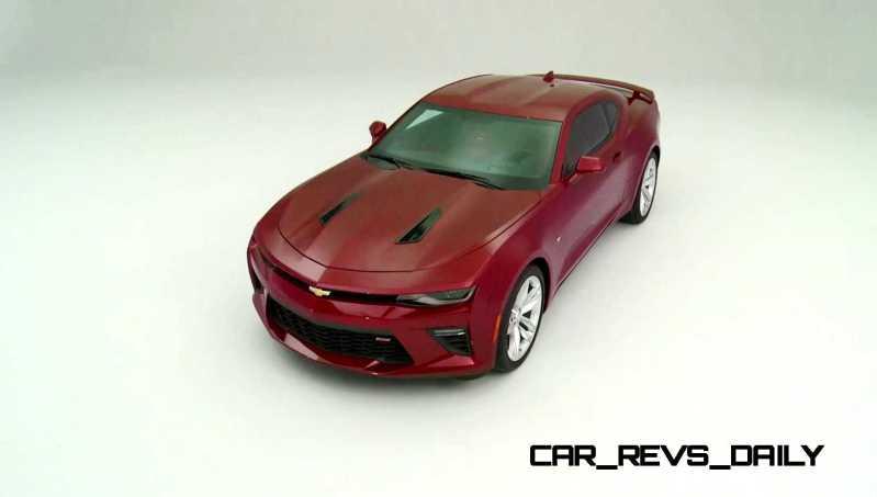 2016 Chevrolet Camaro Flyaround Studio Photos 29