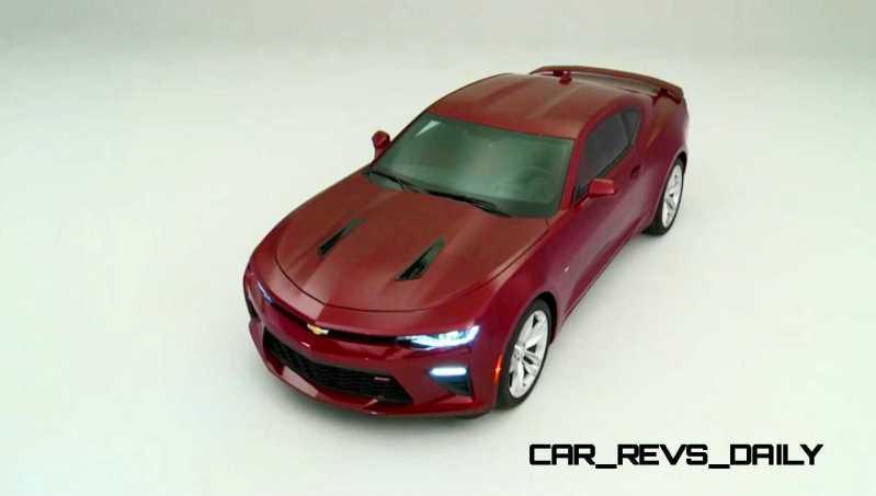 2016 Chevrolet Camaro Flyaround Studio Photos 35