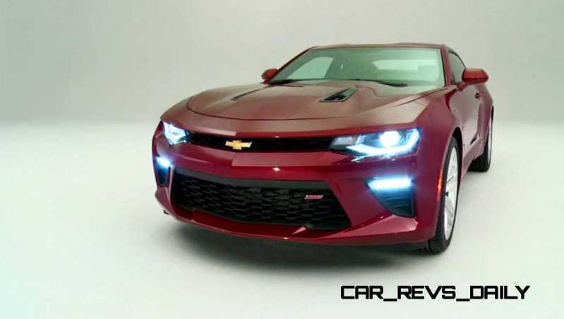 2016 Chevrolet Camaro Flyaround Studio Photos 43