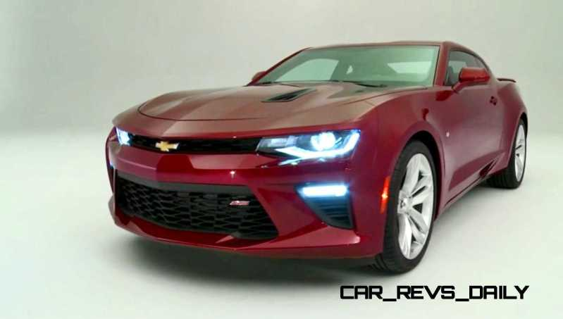 2016 Chevrolet Camaro Flyaround Studio Photos 47