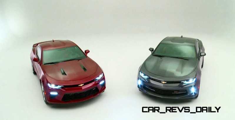 2016 Chevrolet Camaro Flyaround Studio Photos 75
