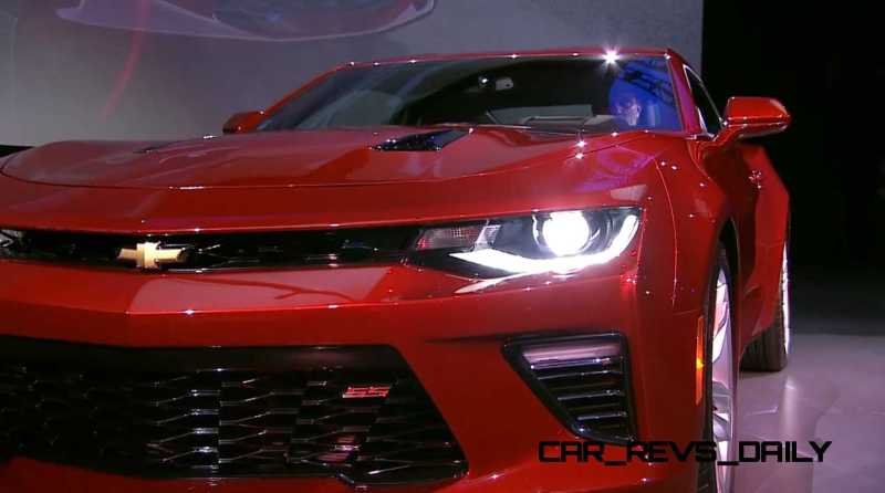 2016 Chevrolet Camaro Live Reveal 24