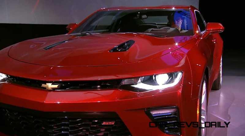 2016 Chevrolet Camaro Live Reveal 28