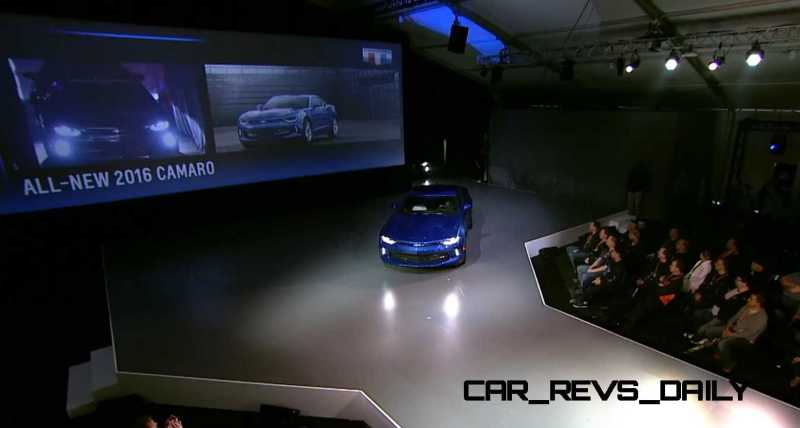 2016 Chevrolet Camaro Live Reveal 7