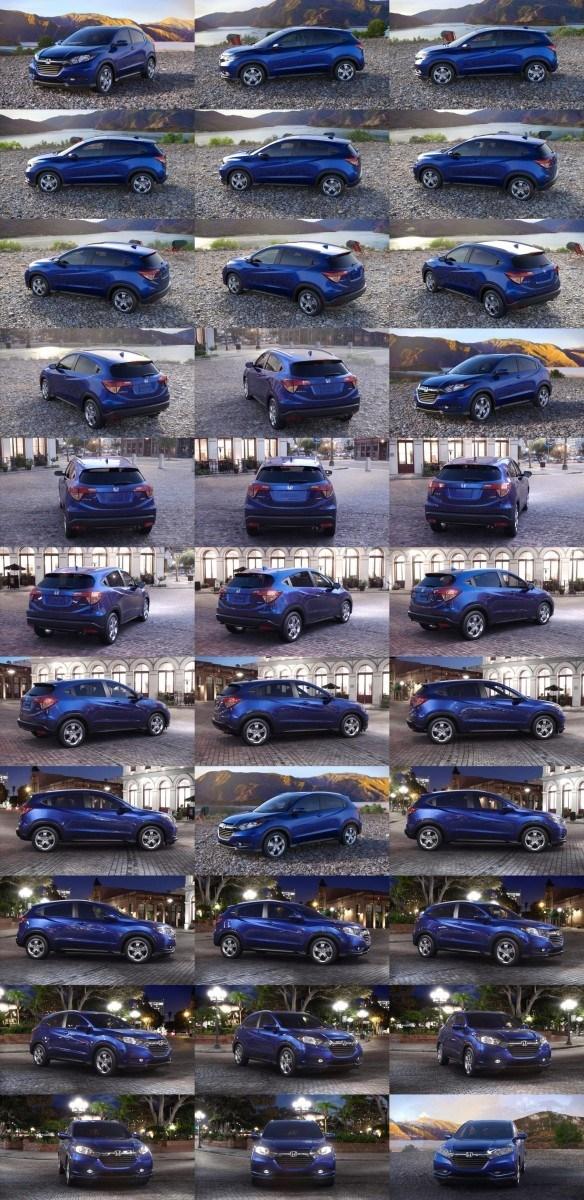 2016 Honda HR-V - Deep Ocean Pearl (CVT only) 1-tile