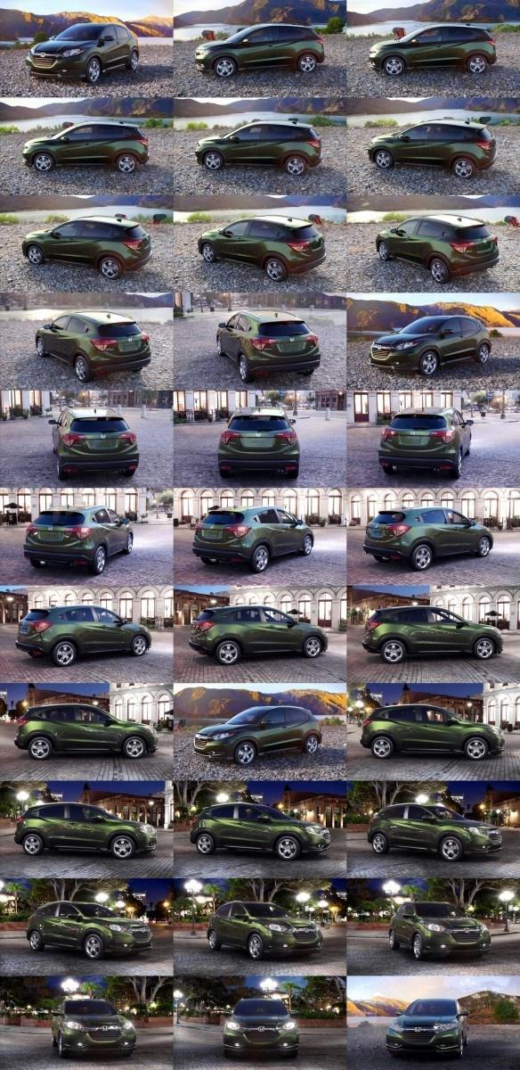 2016 Honda HR-V - Misty Green Pearl 1-tile