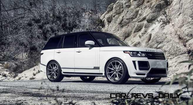 Range Rover VERITAS By Vorsteiner 11