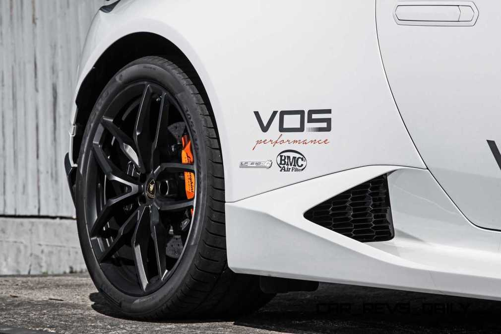 VOS Tuning for Lamborghini Huracan 12