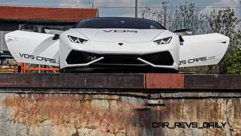 VOS Tuning for Lamborghini Huracan 25
