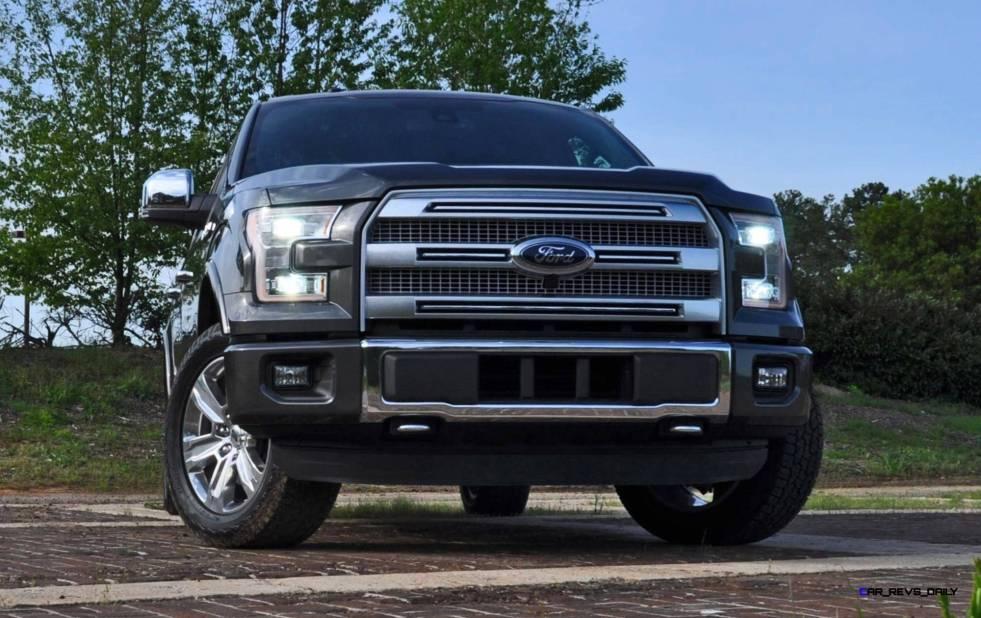 2015 Ford F-150 Platinum 4x4 Supercrew Review 23